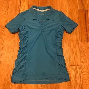Athleta Short Sleeve Golf Shirt with Collar